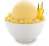 Helado sabor mango