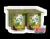 Yogur de soja sabor Papaya y Naranja Kalise