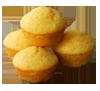 Muffin o magdalena de maíz