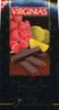 Mini tabletas de chocolate negro rellenas con naranja y frambuesa Virginias