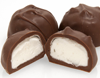 Nubes cubiertos de chocolate