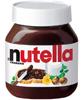 Crema de cacao y avellana Nutella
