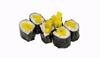 Sushi oshinko con daikon