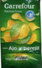 Patatas fritas lisas sabor ajo y perejil Carrefour