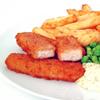 Palitos de pescado vegetales