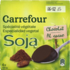 Postre de soja Chocolate Carrefour