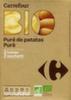 Puré de patatas en copos ecológico Carrefour Bio