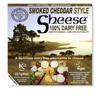 Queso vegano Cheddar ahumado Sheese