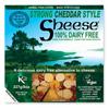 Queso vegano Cheddar curado Sheese