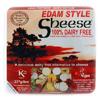 Queso vegano estilo Edam Sheese
