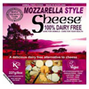 Queso vegano estilo Mozzarella Sheese