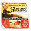 Queso vegano Cheddar rojo Sheese