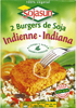 Hamburguesas vegetales Sojasun Indiana