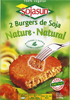 Hamburguesas vegetales Sojasun Natural