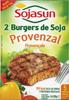 Hamburguesas vegetales Sojasun Provenzal