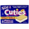 Helado sandwich de vainilla Tofutti Totally Vanilla
