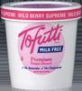 Helado de frutos rojos Tofutti Wild Berry Supreme