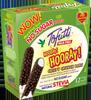 Helado de vainilla cubierto de chocolate y arroz inflado Tofutti Hooray Hooray Bars