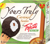 Cono de helado con sirope de caramelo Tofutti Yours Truly Caramel Sundae