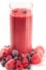 Zumo de frutos rojos antioxidante