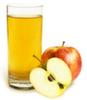 Zumo de manzana y uva