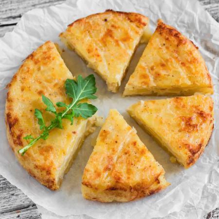 Recetas de tortilla vegana: sin huevo también hay paraíso
