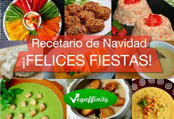 Recopilatorio de recetas de Navidad vegetarianas Vegaffinity