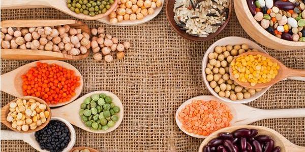 Alimentos vegetales con mayor aporte de proteínas y sus combinaciones