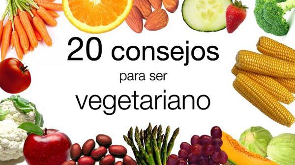 20 consejos si estás pensando en hacerte vegetariano