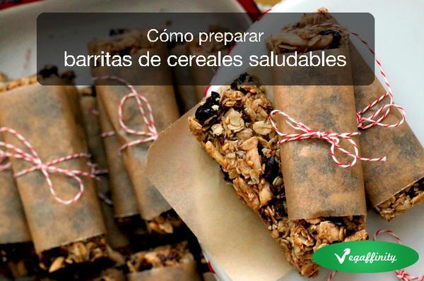 Cómo preparar barritas de cereales saludables