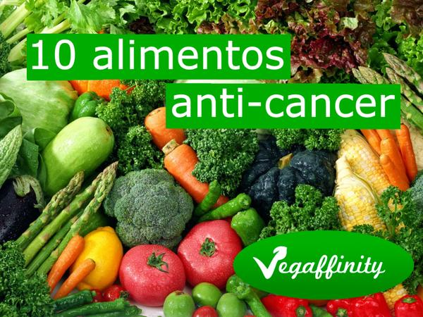 10 super-alimentos anticáncer
