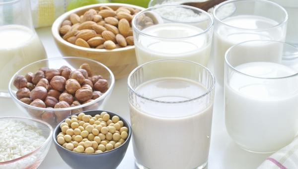 Recetas de leches vegetales: coco, soja, avena, almendra y arroz