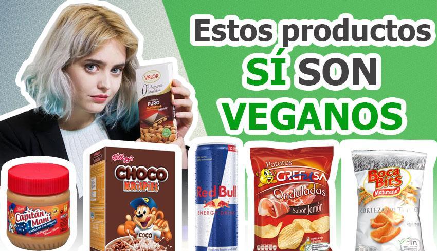 Alimentos que no parecen veganos pero que si lo son