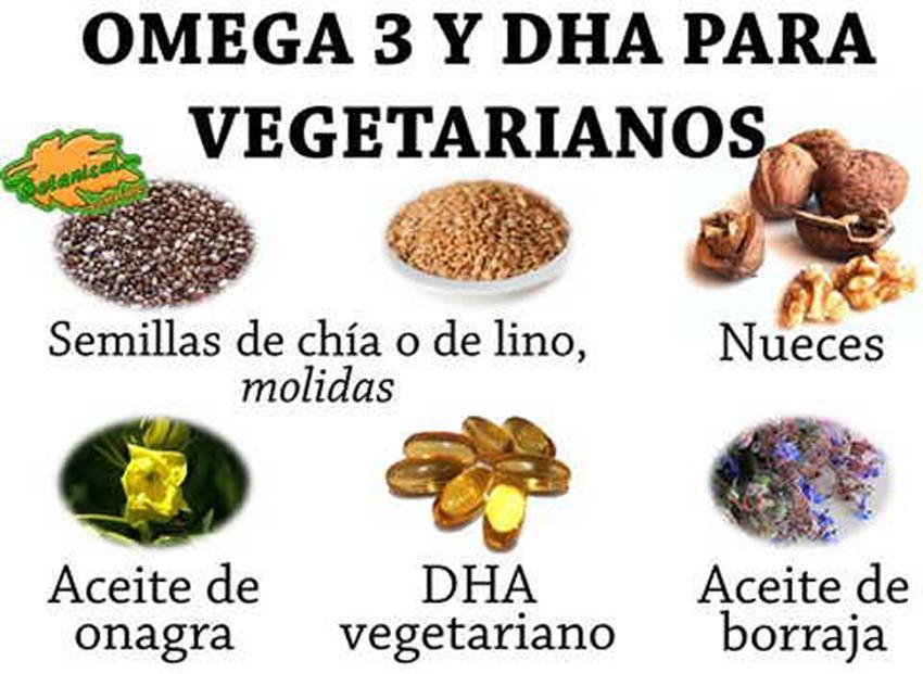 Omega 3 en dietas veganas