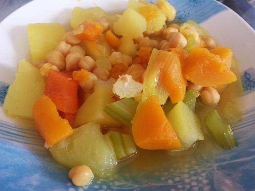 Cocido con verduras