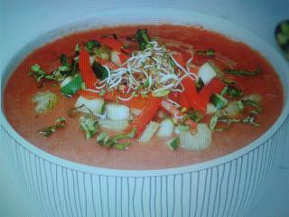 Ensalada de gazpacho