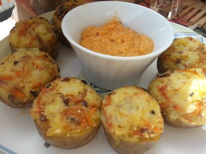 Patatas para invitados