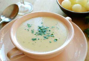 Sopa fría de melón y pipas de girasol