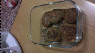 hamburguesas de judias negras