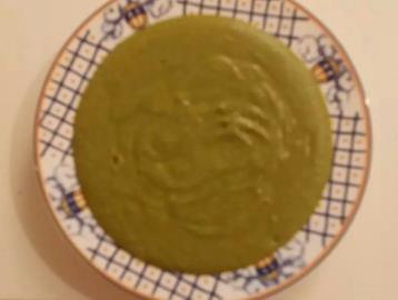 Crema de verduras y avena