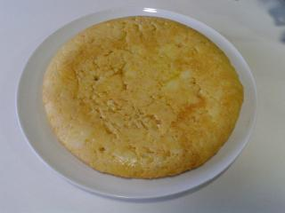 Tortilla de Patatas Vegana con Calabacín