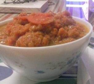 Puré zanahoria,puerro y jengibre