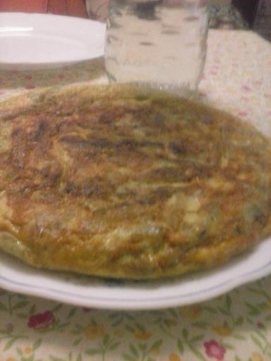Tortilla espárragos trigueros