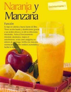 Batido de Naranja y Manzana