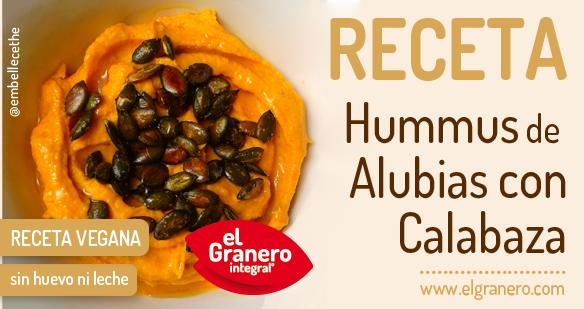 hummus de alubias y calabaza asada
