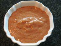 Salsa vinagreta de higos