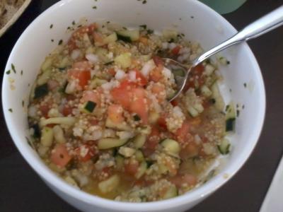 Ensalada tabuleh de quinoa