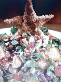 ensalada  christmas tree