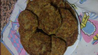hamburguesas de arroz y lentejas