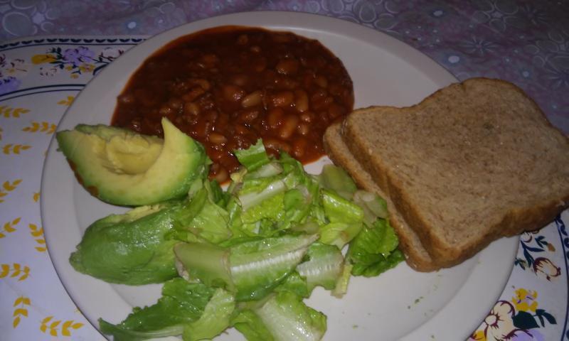 Chili beans con soja